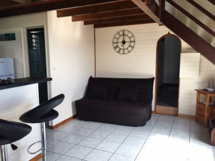 Location de vacances - Chalet à Saint-Leu - Coin salon