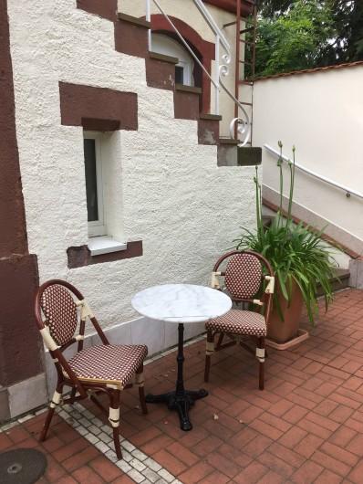 Location de vacances - Appartement à Dresde - Devant la maison
