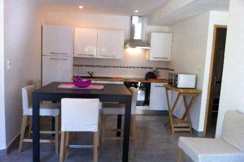 Location de vacances - Appartement à Porticcio - cuisine