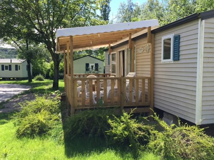 Location de vacances - Bungalow - Mobilhome à Chalezeule - Mobilhomes 4/6 Places