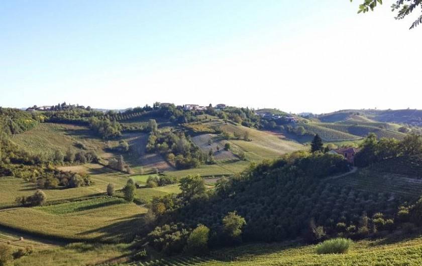 Location de vacances - Chambre d'hôtes à Vigliano d'Asti - La campagne chez nous