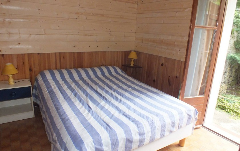 Location de vacances - Gîte à Ayzac-Ost - Chambre