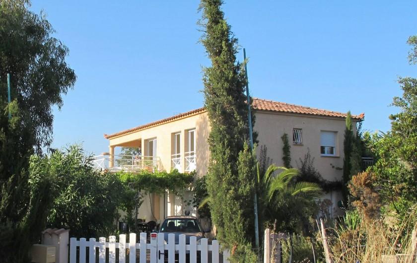 Location de vacances - Villa à Pietrosella - entrée basse