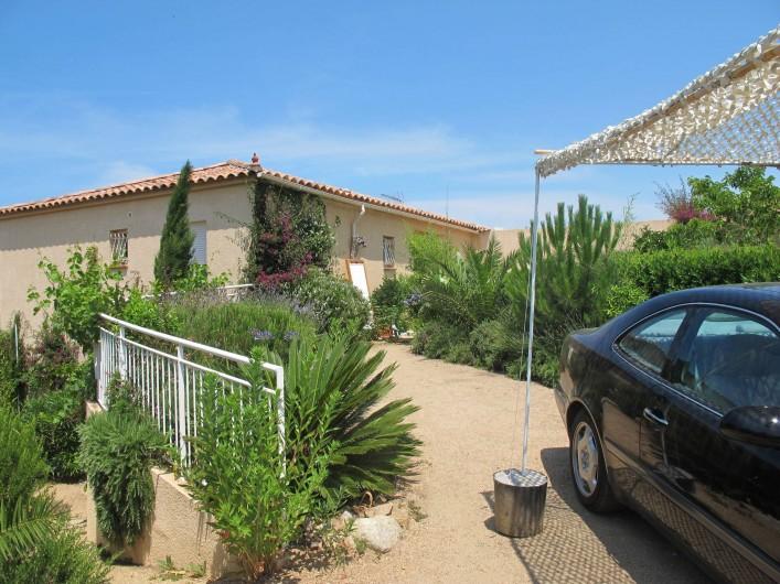 Location de vacances - Villa à Pietrosella - entrée hautepetite terrasse