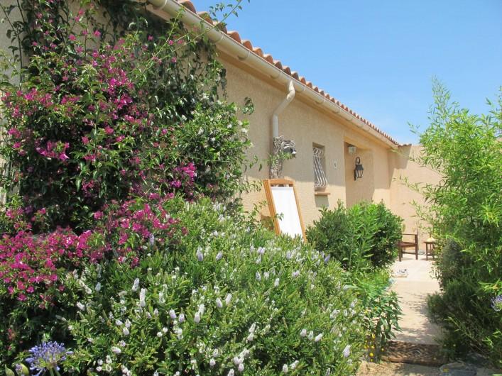 Location de vacances - Villa à Pietrosella - petite terrasse