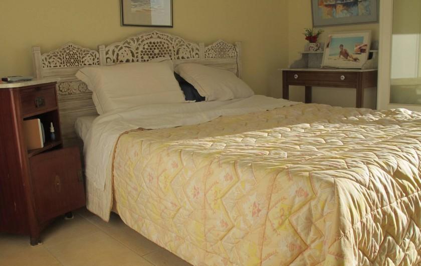 Location de vacances - Villa à Pietrosella - cac 1 grand lit