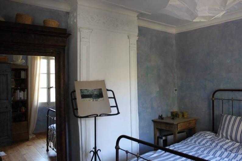 Location de vacances - Villa à Fontanes - chambre bleue