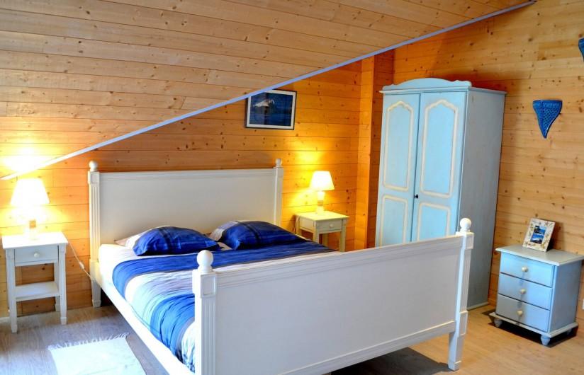 Location de vacances - Chambre d'hôtes à Lanildut - Chambre des îles