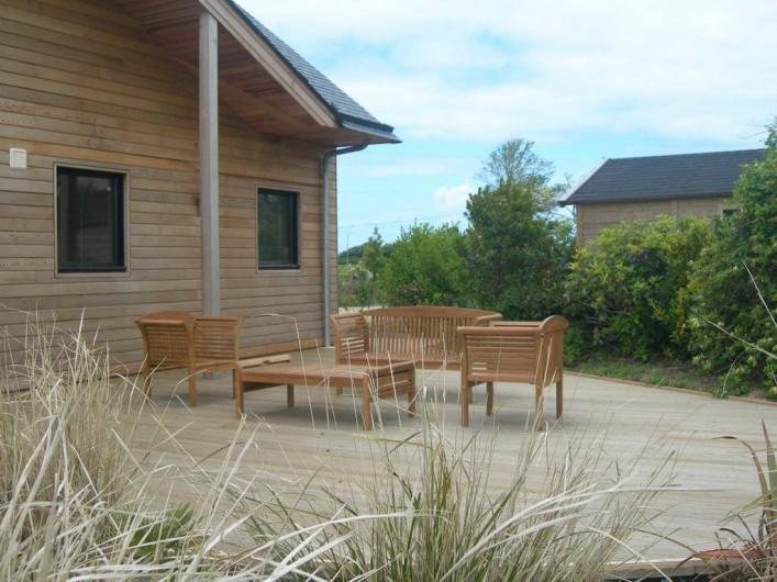 Location de vacances - Chambre d'hôtes à Lanildut - Gîte en bois