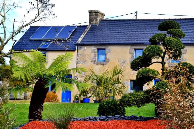 Location de vacances - Chambre d'hôtes à Lanildut - Longère en granit