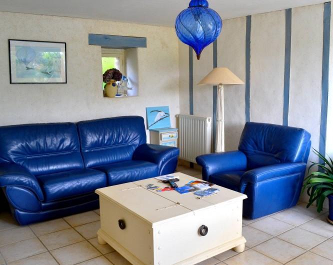 Location de vacances - Chambre d'hôtes à Lanildut - Salon