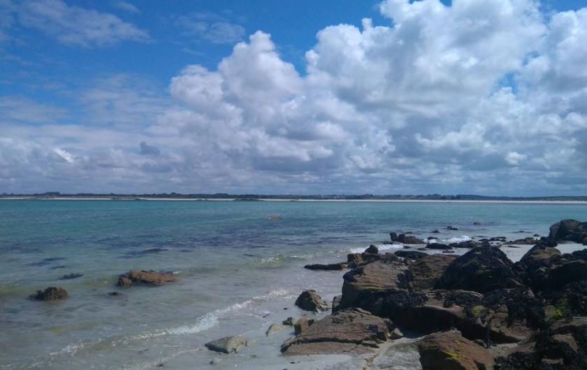 Location de vacances - Chambre d'hôtes à Lanildut - Mer turquoise