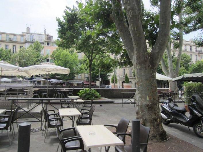 Location de vacances - Appartement à 6e Arrondissement - place Félix Baret
