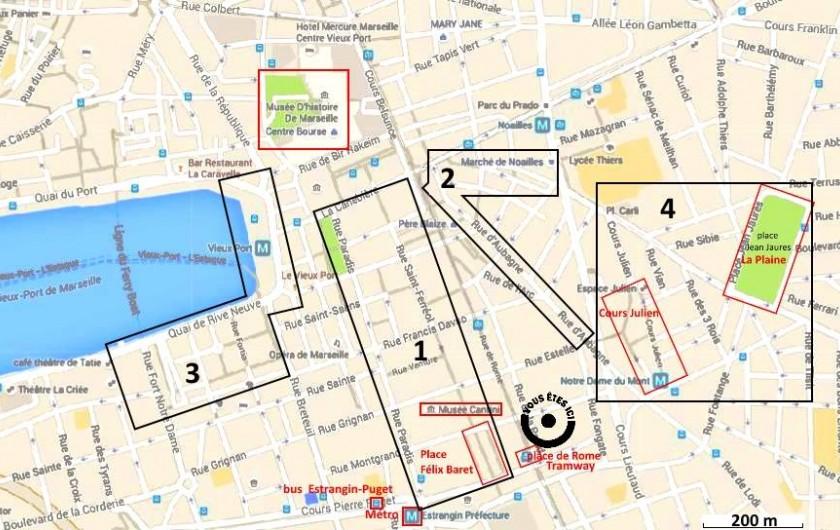 Location de vacances - Appartement à 6e Arrondissement - A 10 minutes à pied