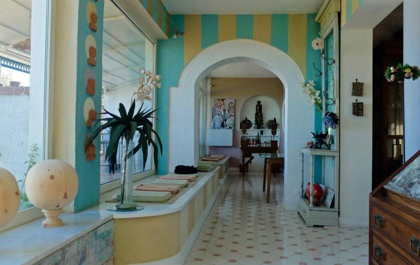 Location de vacances - Villa à Massa Lubrense - Hall d'entrée
