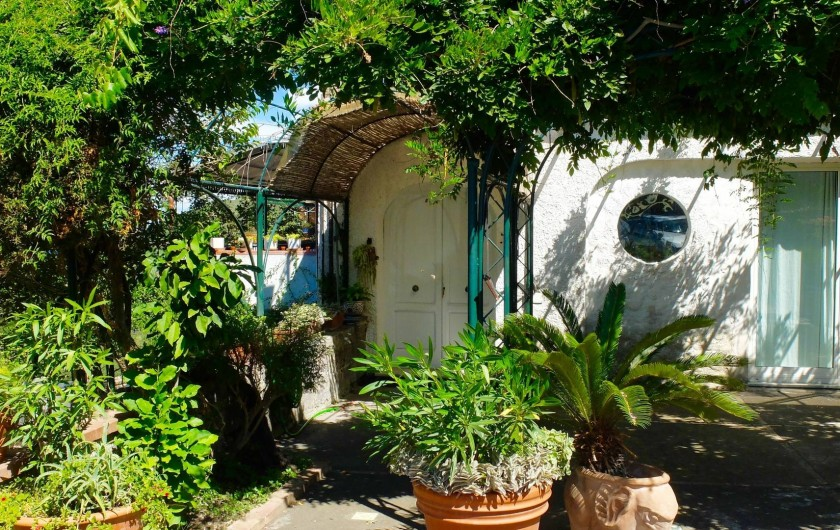 Location de vacances - Villa à Massa Lubrense - Entrée de la Villa