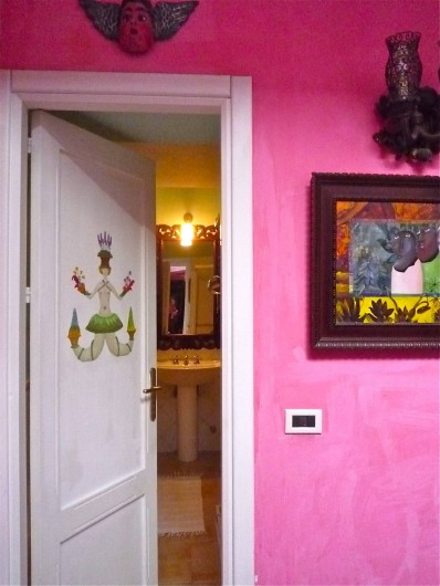 Location de vacances - Villa à Massa Lubrense - Salle de bain douche