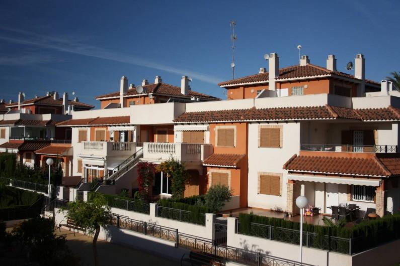 Location de vacances - Appartement à Orihuela - Rue du complexe
