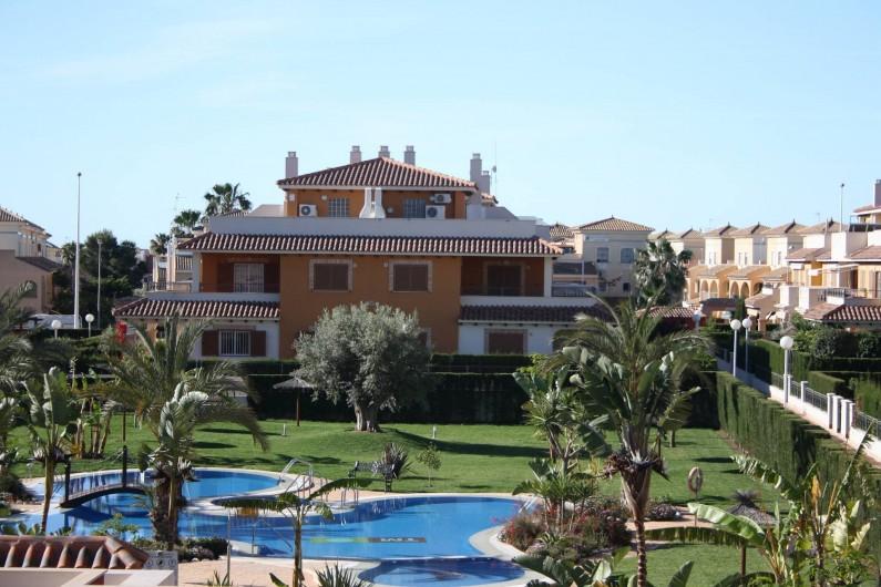 Location de vacances - Appartement à Orihuela - Piscine et jardin