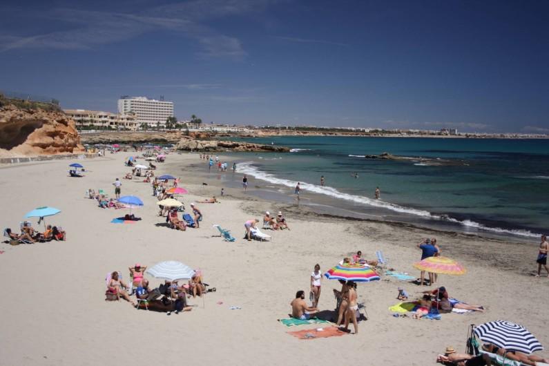 Location de vacances - Appartement à Orihuela - Belle plage de sable fin à proximité