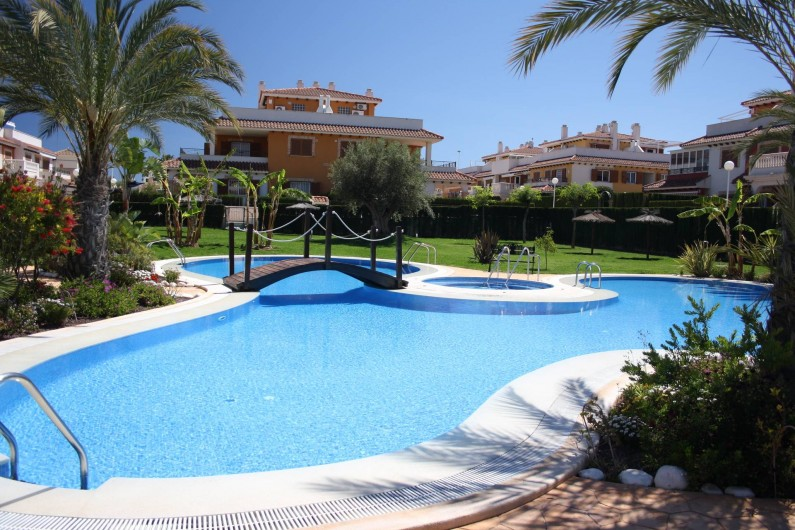 Location de vacances - Appartement à Orihuela - Piscine et jacuzzi