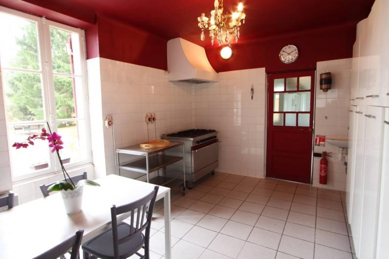 Location de vacances - Villa à Moux-en-Morvan - cuisine
