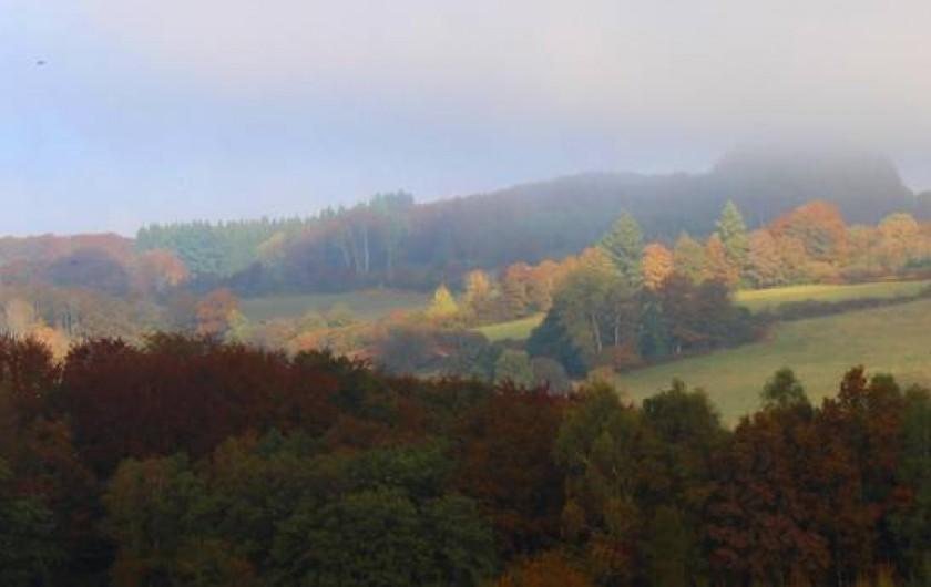 Location de vacances - Villa à Moux-en-Morvan - une des belles vues de la maison