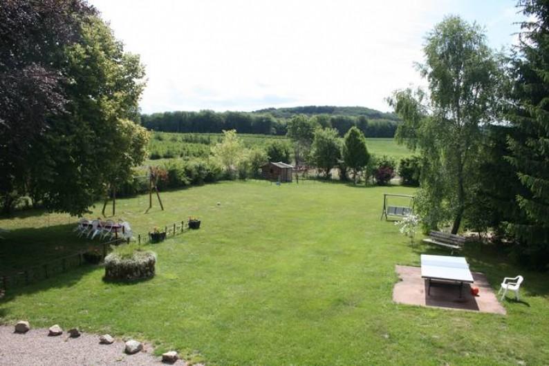 Location de vacances - Villa à Moux-en-Morvan - le jardin