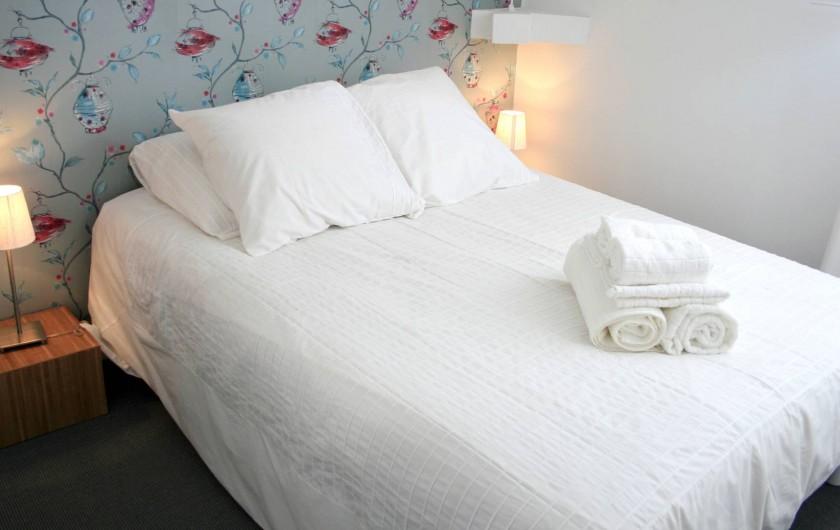 Location de vacances - Villa à Moux-en-Morvan - chambre