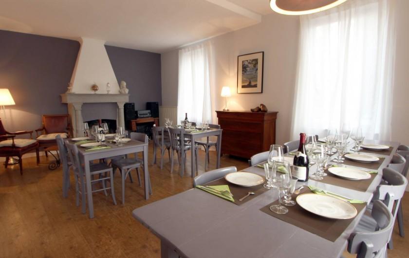 Location de vacances - Villa à Moux-en-Morvan - salle à manger