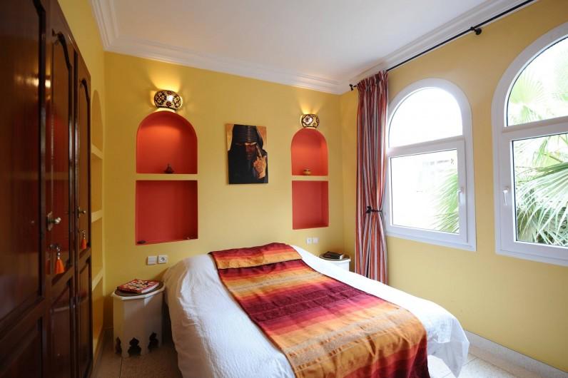 Location de vacances - Villa à Mirleft - La chambre 2 personnes