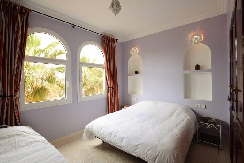 Location de vacances - Villa à Mirleft - La chambre 3 personnes.