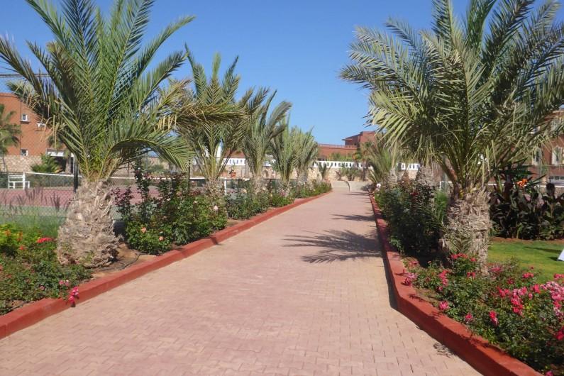 Location de vacances - Villa à Mirleft - Les terrains de tennis accès gratuit.