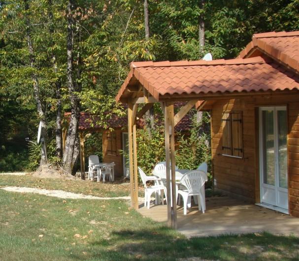 Location de vacances - Villa à Brossac - Chalet en bois