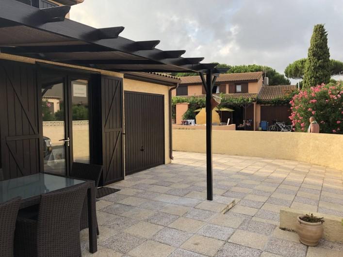 Location de vacances - Villa à Portiragnes Plage - Coucher de soleil à Vias