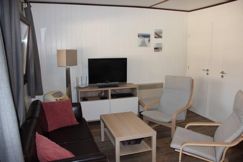 Location de vacances - Villa à Portiragnes Plage - 2 ème chambre à coucher à l'étage avec 1 lit double