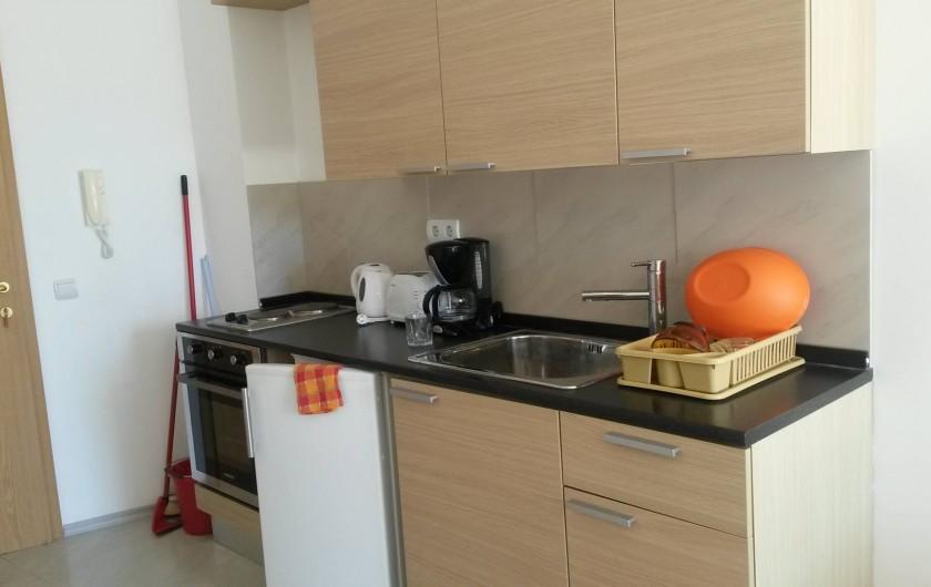 Location de vacances - Appartement à Varna - la cuisine équipée
