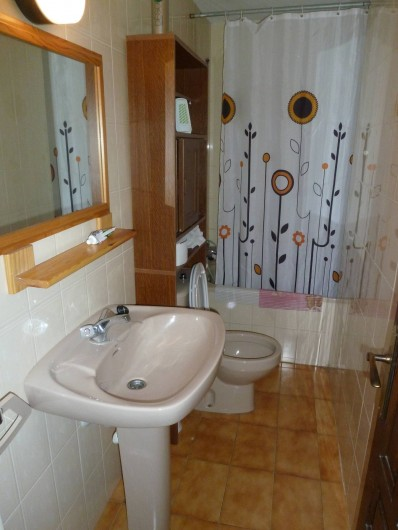 Location de vacances - Appartement à Roses - Salle de Bain avec WC