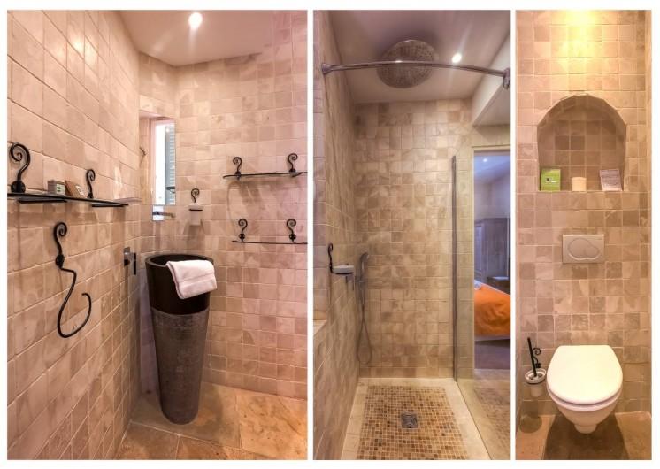 Location de vacances - Hôtel - Auberge à Cannes - salle de bain