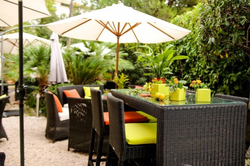 Location de vacances - Hôtel - Auberge à Cannes - Le jardin