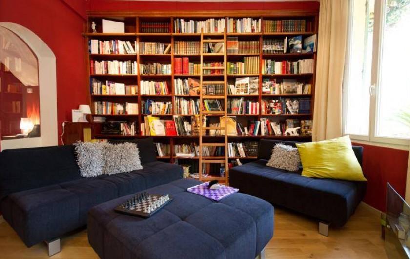 Location de vacances - Hôtel - Auberge à Cannes - La Bibliothèque