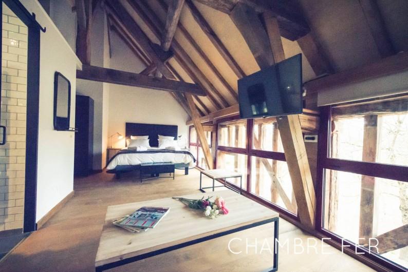Location de vacances - Chambre d'hôtes à Sainte-Maure - Chambre Fer