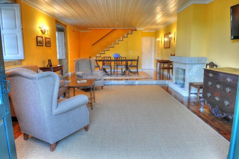 Location de vacances - Gîte à Santa Cruz do Lima - Salle  Casa do Tanque