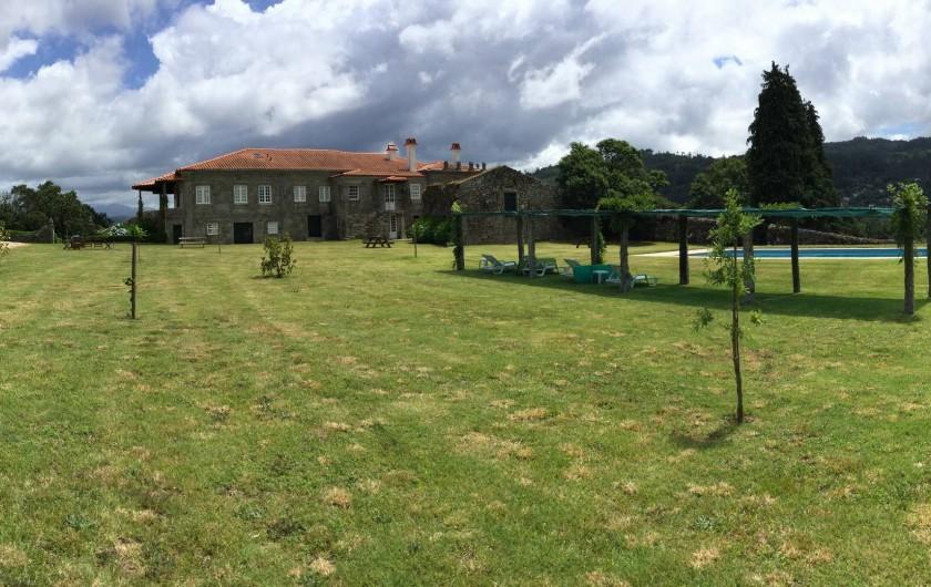 Location de vacances - Gîte à Santa Cruz do Lima - Piscine partagee  Casa de Luou et  Casa do Tanque