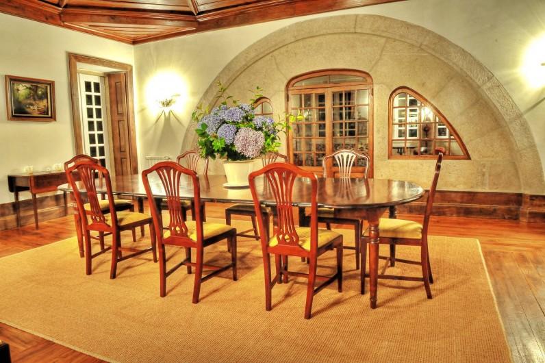 Location de vacances - Gîte à Santa Cruz do Lima - Salle à manger Casa de Luou - 1er étage.