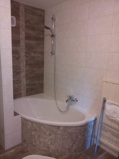 Location de vacances - Appartement à Vercorin - Salle de bains
