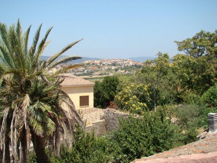 Location de vacances - Maison - Villa à Tresnuraghes - Notre vue sur montagne