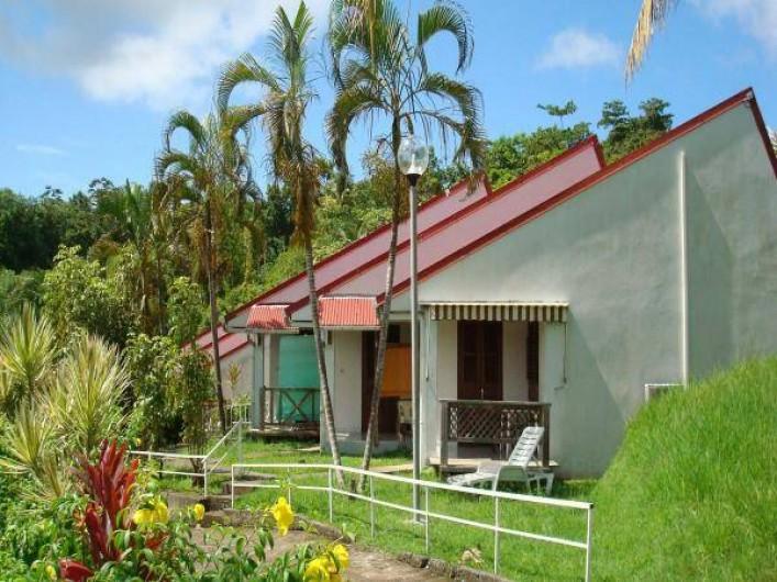 Location de vacances - Studio à La Trinité - Terrasse ouverte sur la proche campagne