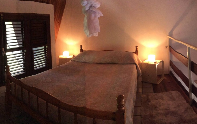 Location de vacances - Studio à La Trinité - Etage une mezzanine   avec lit double