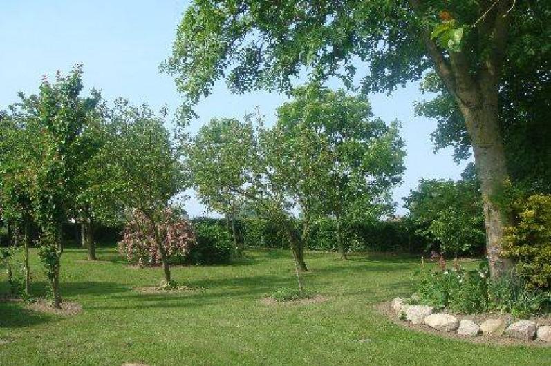 Location de vacances - Gîte à Nibas - notre jardin